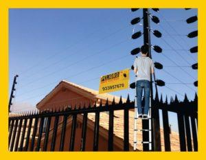 Mantenimiento de cercos electricos perimetrales